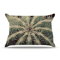 "Angie Turner ""Cactus"" Plant Pillow Case"