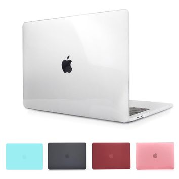 Crystal & Matte Black Case For 2016 2017 New Macbook Pro 13 15 Case Fit A1706 A1707 Touch Bar A1708 Non Touch Bar Notebook Cover