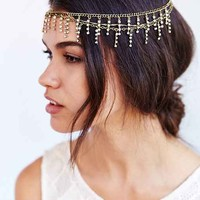 Rhinestone Goddess Headwrap- Gold One