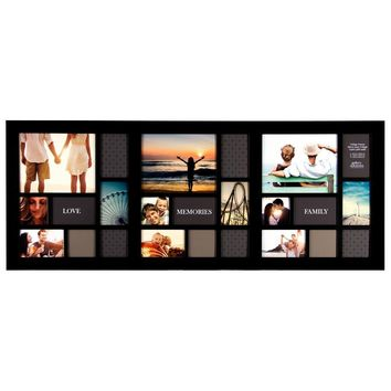 24 Photo Display Collage Wall Frame