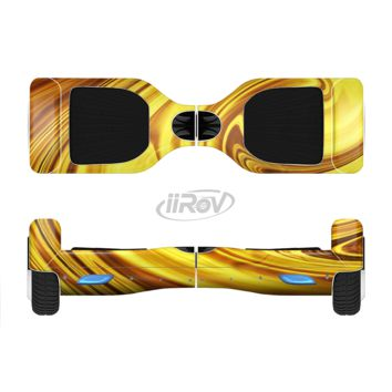 The Swirling Liquid Gold  Full Body Skin Set for the Smart Drifting SuperCharged Transportation iiRov