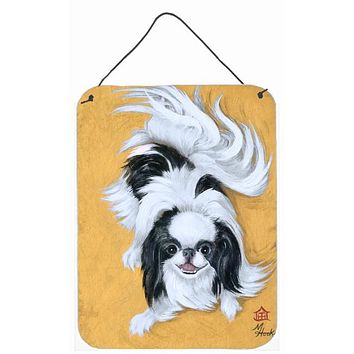 Japanese Chin Black White Play Wall or Door Hanging Prints MH1034DS1216