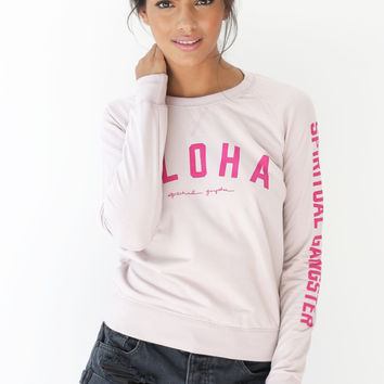 Aloha Summer Sweatshirt Beach