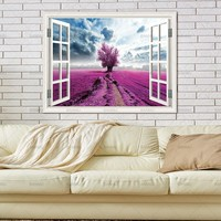Pictures home decor Canvas painting Wall Art prints on Trees Outside the Window Wall poster decoration for living room no frame