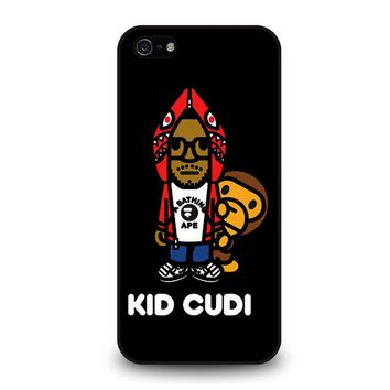 KID CUDI BAPE SHARK iPhone 5 / 5S / SE Case Cover