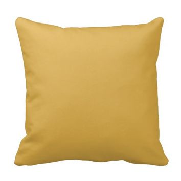 Honey Gold Yellow Pillows Decorative For The Couch