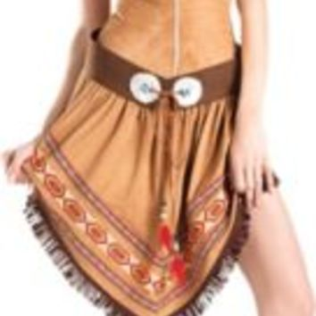 Adult Indian Princess Body Shaper Costume | Party City