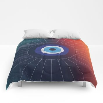 Evil Eye Comforters by DuckyB