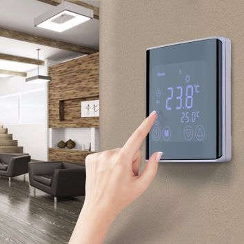 Programmable NEW Touchscreen Digital Thermostat Backlit LCD display