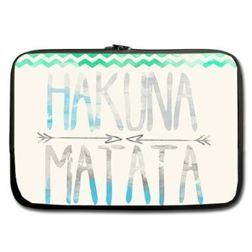 "Unidesign Hakuna Matata 13"" 13.3"" Inch Laptop Sleeve Bag for Apple Macbook pro, air, Dell Inspiron, Vostro, Samsung, ASUS UL30, Toshiba Notebook:Amazon:Computers & Accessories"