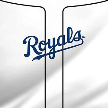 MLB Kansas City Royals iPad Mini 4 Skin - Kansas City Royals Home Jersey Vinyl Decal S