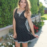 'Sail Away' Skater Dress