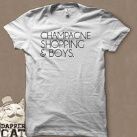 CHAMPAGNE SHOPPING & BOYS T-Shirt