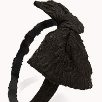 Throwback Lace Bow Headwrap
