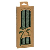 Aloha Bay Palm Tapers Green - 4 Candles