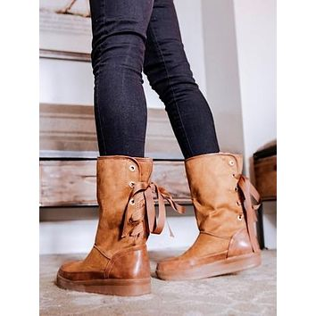 Casey Lace Boots