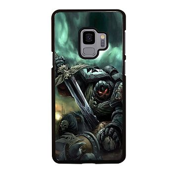 WARHAMMER BLACK TEMPLAR  Samsung Galaxy S3 S4 S5 S6 S7 Edge S8 S9 Plus, Note 3 4 5 219