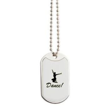Dance! Dog Tags