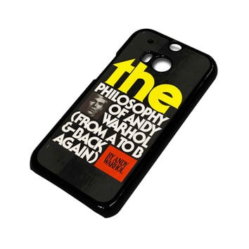 ANDI WARHOL HTC One M8 Case Cover