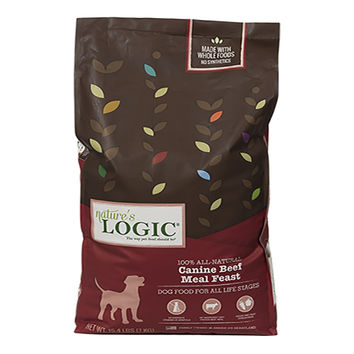 Nature's Logic Canine Beef Meal Feast Dog Food 15.4 lbs