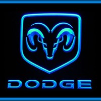 Dodge Car Display Neon Light Sign