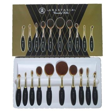 Day-First™ Brushes Tooth Shape Oval Makeup Set Multipurpose
