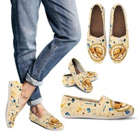 Flying School Bus Casual Shoes