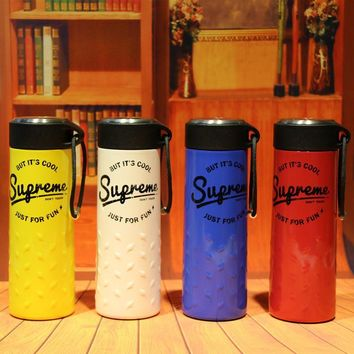 """""""Supreme"""" On Sale Cute Drinks Coffee Innovative Cool Strong Character Stainless Steel Cup [9361196999]"""
