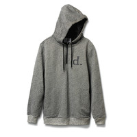 Un-Polo Tech Hoodie in Heather Grey