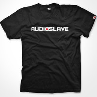 Audioslave inspired t-shirt. Hand printed on 100% Cotton. For men and women.
