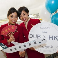 Cathay Pacific starts direct Hong Kong to Dublin service | Aviation