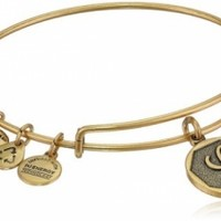 Alex and Ani Initial Expandable Wire Bangle Bracelet, 7.25 @ Jewelry Wonder