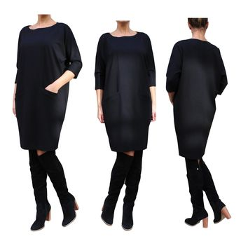 Loose Fitting  Dress with Pockets