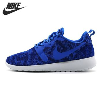 OPAL FERRIE - Original NIKE Roshe Royal Blue Women's Running shoes