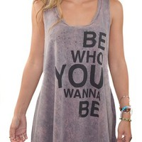 Project Social T Be Who You Wanna Be - HaileyMason, LLC Store