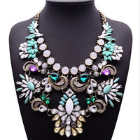 Jeweled Floral Collar Necklace ❊ New Color Added ❊ JUST REDUCED!