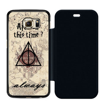 After All This Time Always Quote Harry Potter Flip Case Samsung S6  Case