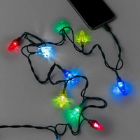 Holiday Lights iPhone Charging Cable