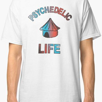 'Psychedelic Life ' T-Shirt by cazfax