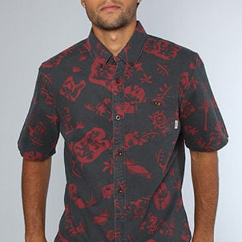 The Elysian S/S Buttondown Shirt in Deep Navy