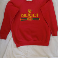 Vintage 80's Gucci Sweater, size Large