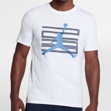 Jordan Men Fashion Casual Sports Shirt Top Tee-4