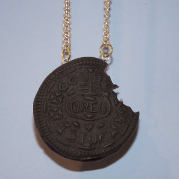 Oreo Bite Necklace