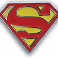 Superman Classic Logo Belt Buckle - Superman - | TV Store Online
