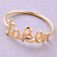 Taken Midi Ring - Gold or Silver