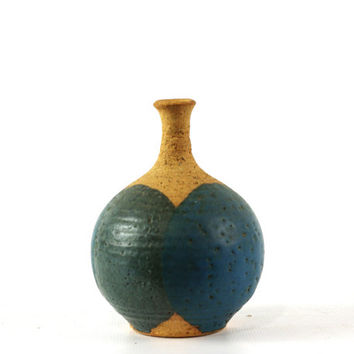 Mid Century Studio Pottery Bud Vase, Willett Studio, Frank Willett