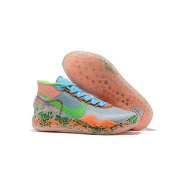 Nike KD 12 Kevin Durant XII Multi Floral Basketball Shoes