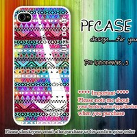 Nike Just do it on best aztec : Handmade case For Iphone 4/4s ,5