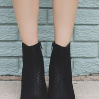 Commotion Booties - Black