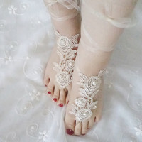 beach shoes, bridal sandals, wedding bridal, barefoot sandles,  wedding shoes, summer wear,